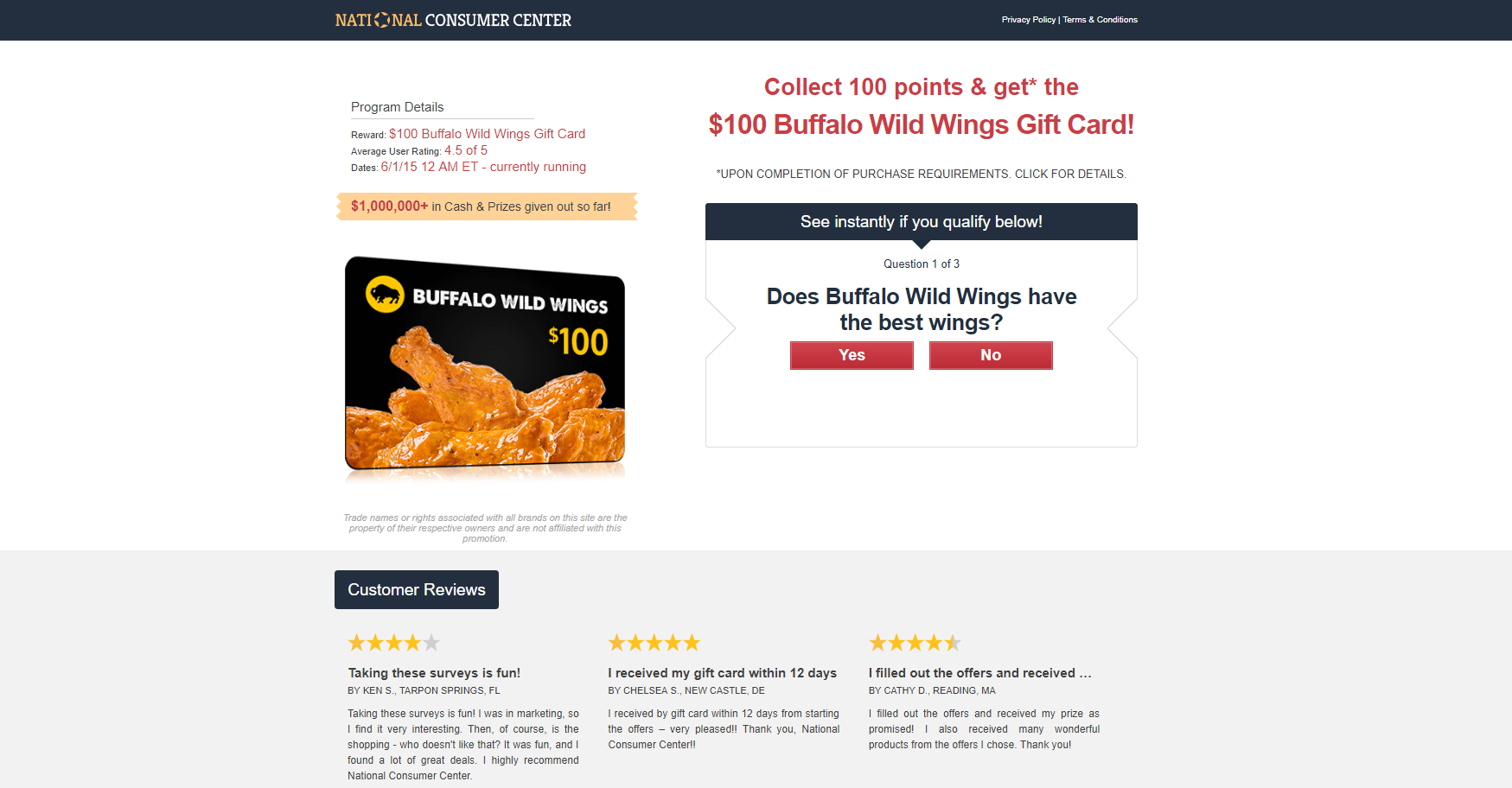 Get a Meal for 2 at Buffalo Wild Wings!